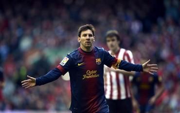 Messi marca y sigue con su brutal racha de partidos marcando