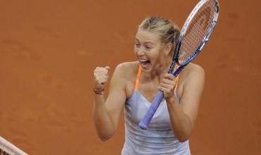 Sharapova logra el título en Stuttgart