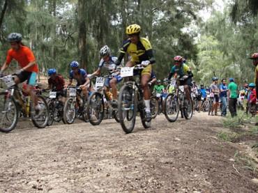 En Cantarranas se realizó la segunda fecha del campeonato de ciclismo MTB