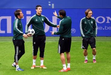 El Real Madrid ya entrena en Dortmund