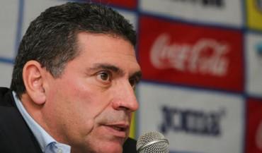Luis Fernando Suárez arribó este miércoles a Honduras
