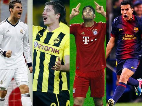 En la Champions se verán las caras Españoles y Alemanes