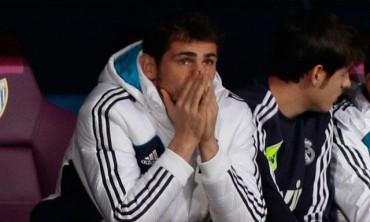 Iker Casillas ha sufrido en el banquillo