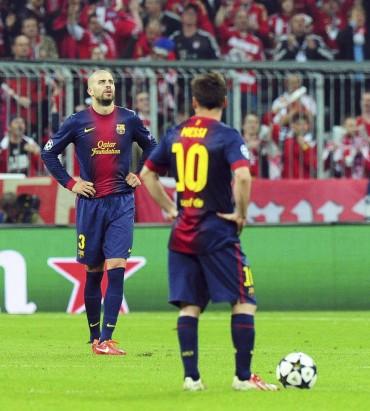 """Piqué: """"El Bayern nos ha dado un repaso"""""""
