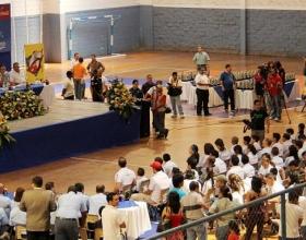 Los 183 atletas fueron premiados el fin de semana por Condepah