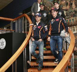 Marc Márquez y Dani Pedrosa se retan para la carrera de Jerez
