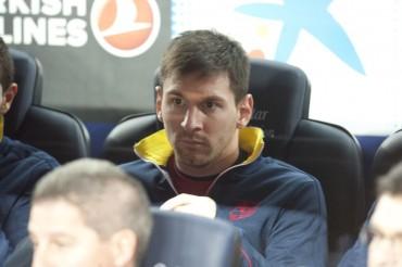 Messi no juega de titular