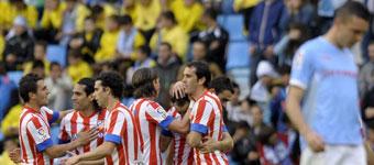El Atlético sella el tercer puesto para la Champions