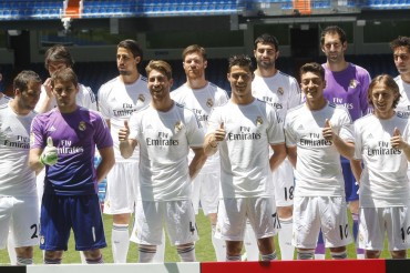 El Real Madrid presenta la nueva camiseta para 2013/14