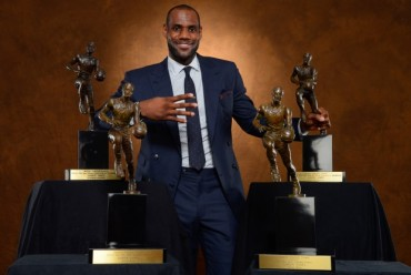 Su cuarto 'MVP' para LeBron