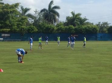 Los legionarios de la Selección de Honduras ya estan en Miami