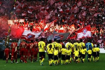 La primera final Germana de la Champions