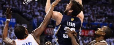 Los Grizzlies eliminan a los Thunder y alcanzan la final del Oeste