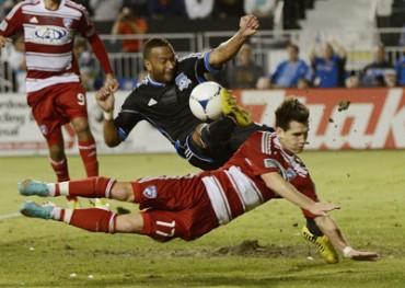 Víctor Bernárdez fue castigado de oficio en la MLS
