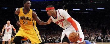 New York Knicks se impusieron con autoridad a los Indiana Pacers