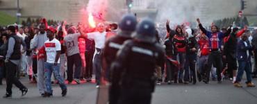 Incidentes en la fiesta del PSG