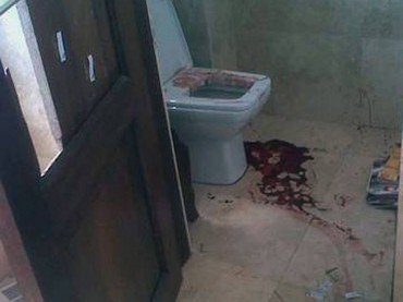 Revelan fotos inéditas de la escena del crimen de Pistorius