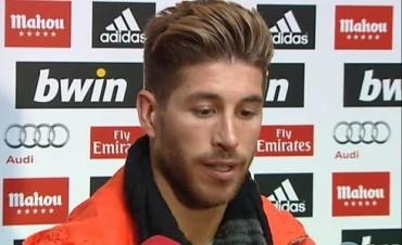 """Sergio Ramos: """"No estoy aquí para hablar de Mourinho, si no de la final"""""""