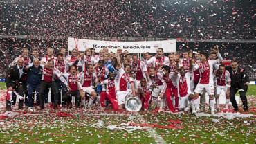 El Ajax se coronó Bicampeón de la Liga de Holanda