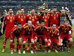 España sigue en la cima en el ranking FIFA