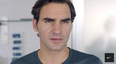 Nuevo anuncio de Roger Federer con Nike
