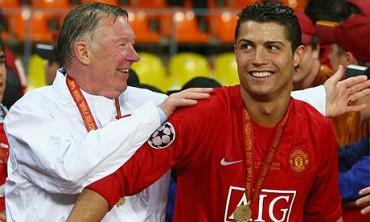"Cristiano se despide de Sir Alex: ""Gracias por todo, jefe"""