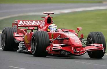 Vettel por delante de Alonso en Montmeló