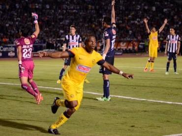 América saca empate a dos goles frente a Monterrey