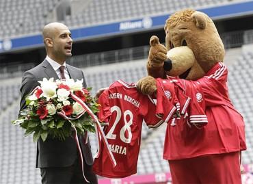 Pep Guardiola ha sido presentado oficialmente como entrenador del Bayern de Múnich