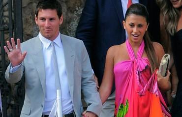 """Messi asegura que """"Antonella se aburre con el fútbol"""""""