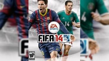 La nueva portada del videojuego de FIFA 2014