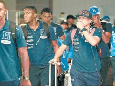 La Selección llegó puntual a San José Costa Rica