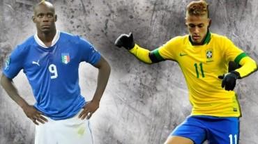 Brasil e Italia calibrarán hoy su potencial
