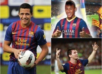 """Alexis: """"Sería hermoso un trío con Messi y Neymar tengo calidad para estar ahí"""""""