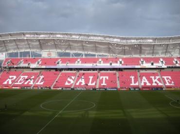 Honduras realizó una práctica en el estadio Rio Tinto de Real Salt Lake