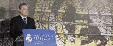 """Florentino Pérez confirma: """"Mi entrenador es Ancelotti"""""""