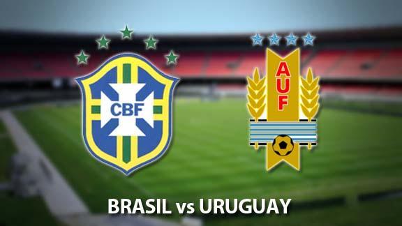 Brasil y Uruguay semifinales de la Copa Confederaciones