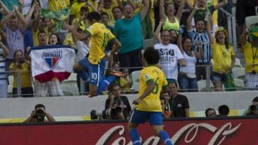 Brasil derrota a México gracias a Neymar
