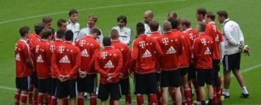 Primer entrenamiento de Pep Guardiola en Múnich