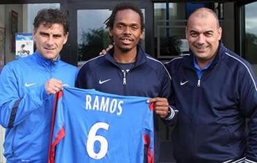 El hondureño Luis Ramos fue fichado este lunes por el Chateauroux