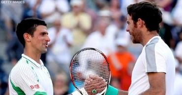 Djokovic perfila semifinal ante Del Potro