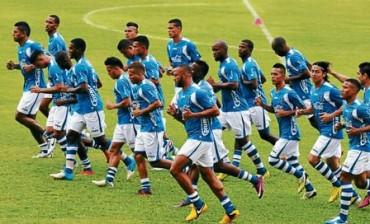 La Selección de Honduras realizó su primer entrenamiento en San José California