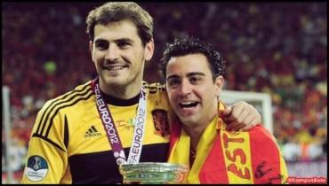 """Xavi: """"Casillas se merece un respeto que no se le tuvo en Madrid"""""""