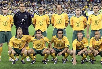 Australia celebró a lo grande su clasificación a Brasil 2014