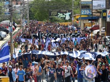 Marcha que exigía regreso de Amado a Motagua terminó en tragedia