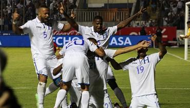 Triunfo de Honduras sobre Jamaica 2-0