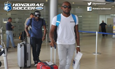 La Selección de Honduras ya se encuentran de regreso en el país
