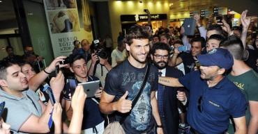 """Fernando Llorente ya está en Turín: """"Estoy muy contento"""""""