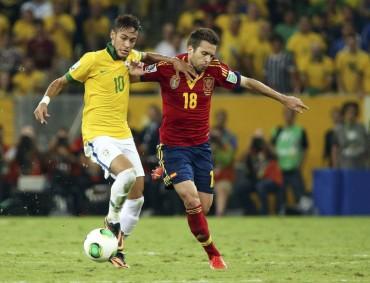 Neymar y Jordi Alba se operarán el viernes de amigdalitis
