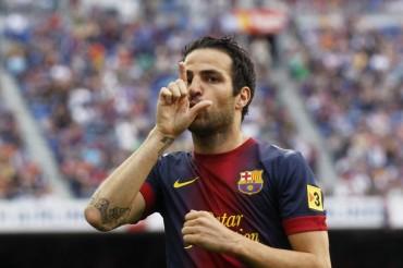 Cesc Fábregas no se va del Barcelona